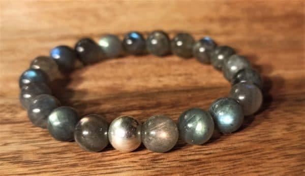 Bracelet shiva, Labradorite pour homme