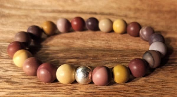 Bracelet Shiva Mokaïte pour Homme