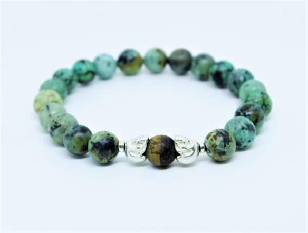 """Bracelet """"Kali"""" Turquoise Africaine"""