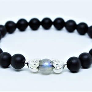 Bracelet Onyx Mat