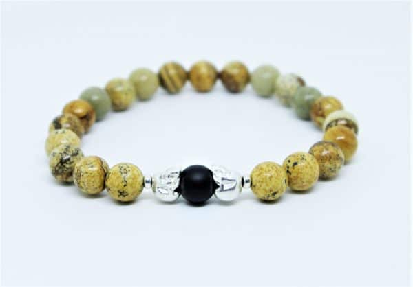 "bracelet ""Kali"" Jaspe Picture"