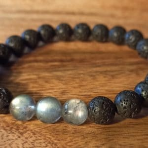 Bracelet «Java» Labradorite, pour homme