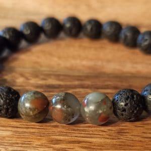 Bracelet «Java» Héliotrope pour homme